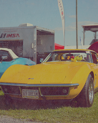 Summer of 69 Corvette